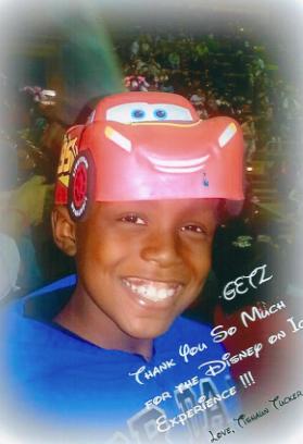 boy with car hat
